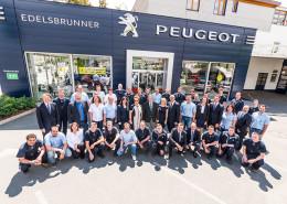 Das motivierte Team vom Autohaus Edelsbrunner stellt sich vor!